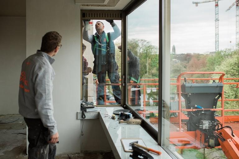 Glas Van Lent - Renovatie glas hoogrendementsbeglazing Antwerpen